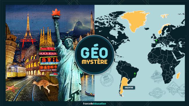 Géo mystère : découvre le monde